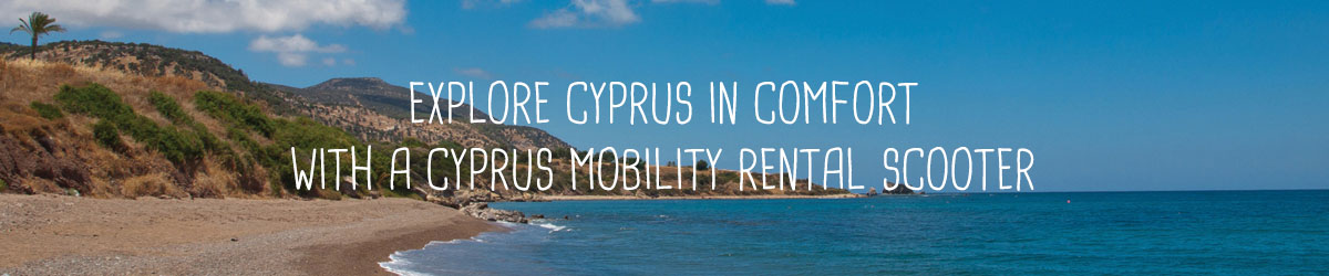 Explore cyprus in a comfortable mobility chair